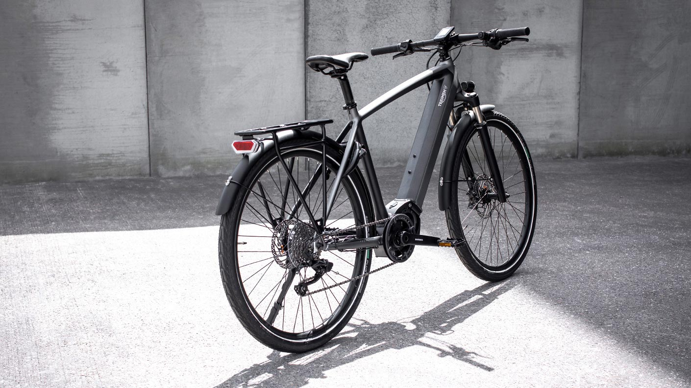 Trekker GT Triumph's first electric bicycle