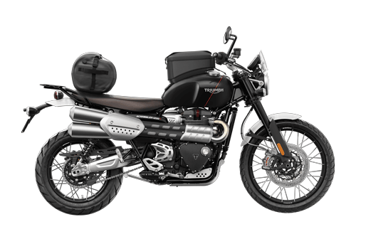 Triumph Scrambler 1200 XC with accessories