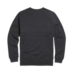 Blackawton Embroidered Logo Sweatshirt Jet Black