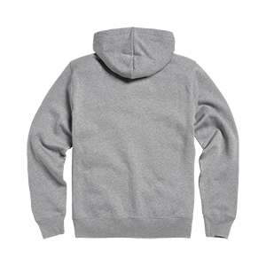 Lavenham Applique Logo Zip Through Hoody Grey Melange