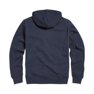 Lavenham Applique Logo Zip Through Hoody Black Iris
