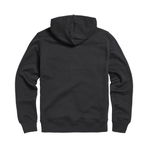 Lavenham Applique Logo Zip Through Hoody Jet Black
