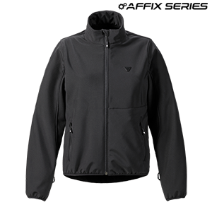 Womens Mid Layer Soft Shell Jacket Black