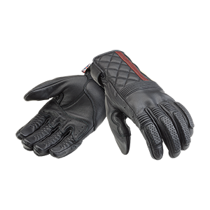 Sulby Motorcycle Glove Black