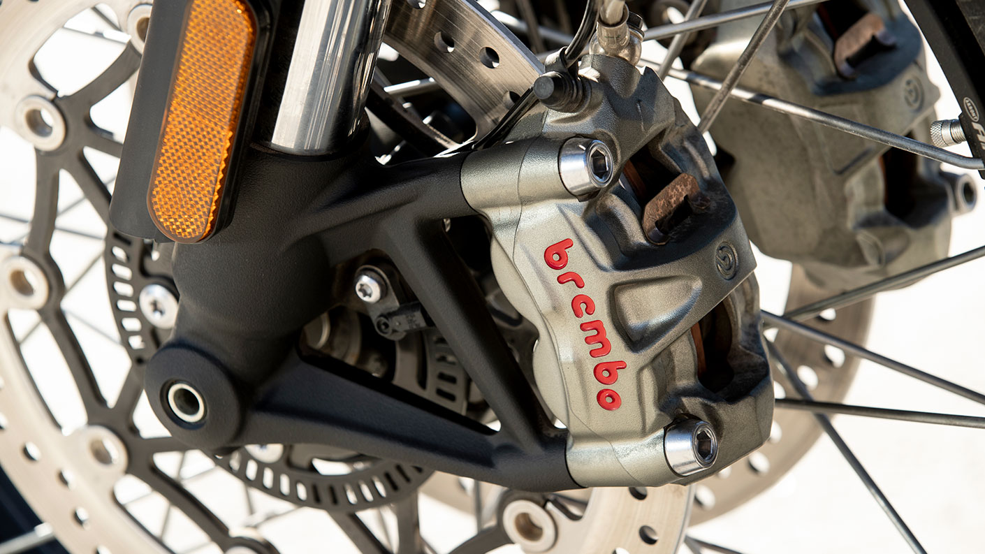 Brembo Brakes fitted to all-new Triumph Scrambler 1200