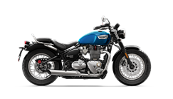 Triumph Speedmaster cobalt blue and jet black CGI