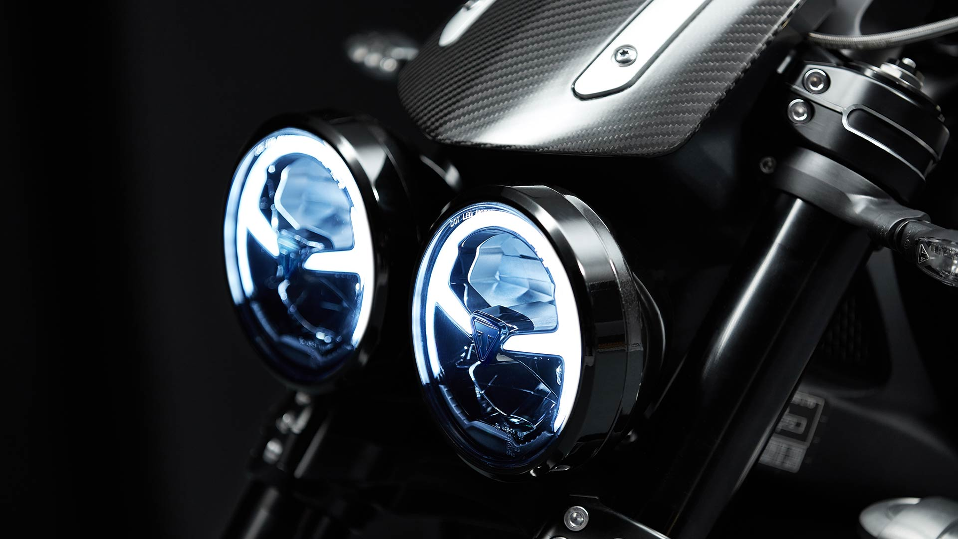 Triumph Rocket 3 TFC LED DRL headlights
