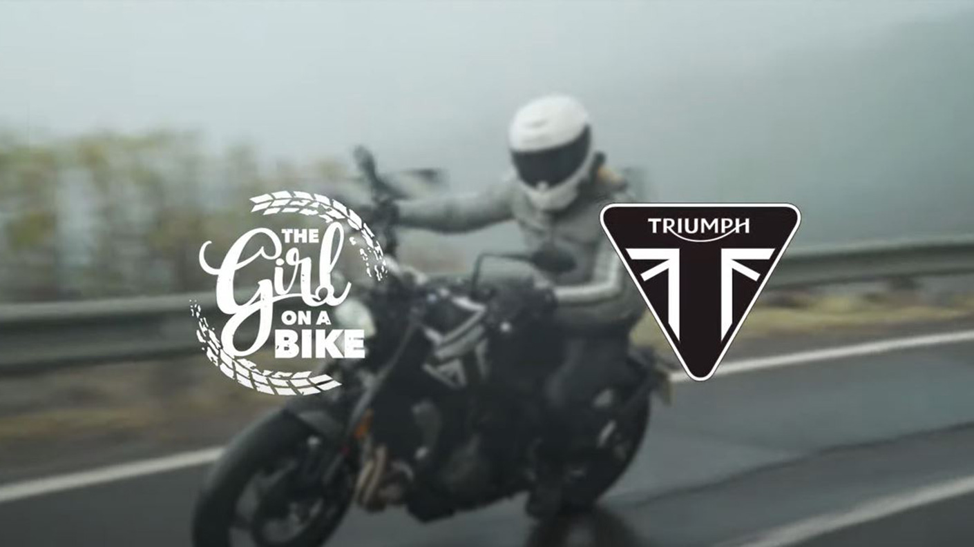 The Girl On a Bike Triumph Trident 660 Review